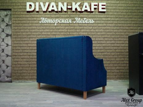 Диван Комфорт 4 для кафе бара ресторана кальянной лофт и арт проекта
