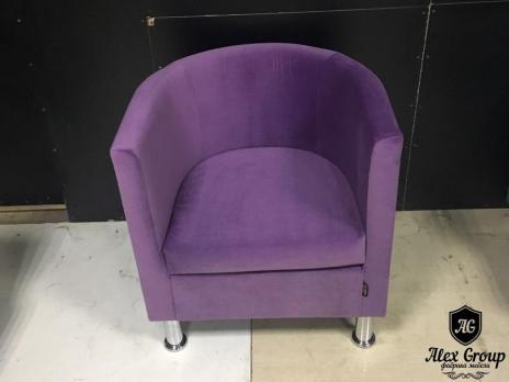 Кресло красное - подкова
